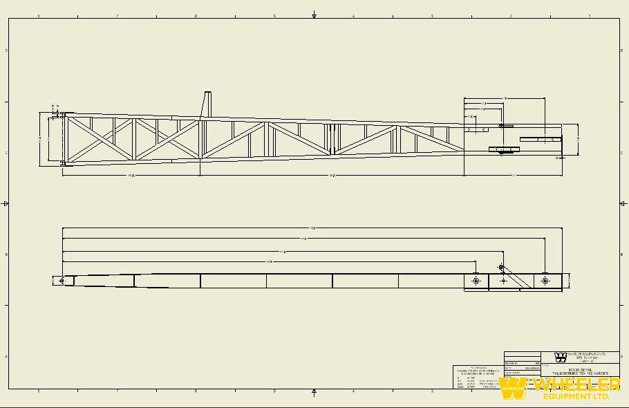 THUNDERBIRD TSY-155 BOOM UNOFFICIAL DRAWING