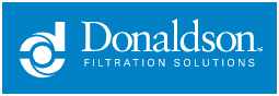 blue donaldson filtration solutions logo